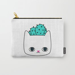 Cactus Kitty Planter Carry-All Pouch