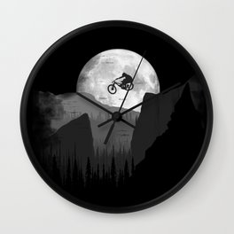 Moon Jump Wall Clock