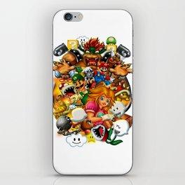 Super Mario Bros. Battle iPhone Skin