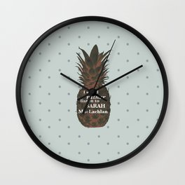 I would rather listen to Sarah MacLachlan - Carlton Lassiter quotes Wall Clock