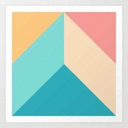 Ultra Geometric IX Art Print