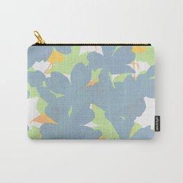 Primroses  Orange Flamingos Carry-All Pouch