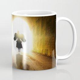 Angel In A Tunnel Of Light Coffee Mug
