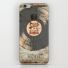 VINCI RECORD iPhone & iPod Skin