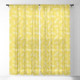 Positive Vibes on Sunshine Sheer Curtain