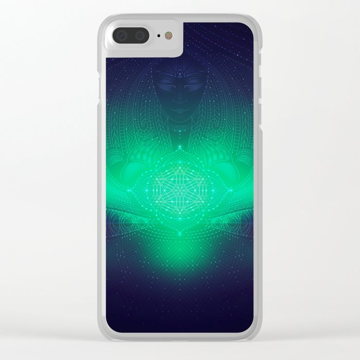 dreaming gate Clear iPhone Case
