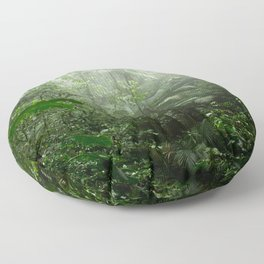 Into the Cloud Forest Floor Pillow