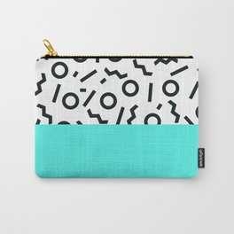 Memphis pattern 43 Carry-All Pouch