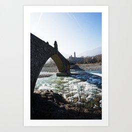 The Bridge - Italy Art Print