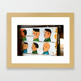 I'll Have the Flat Top Please Framed Art Print