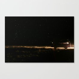 WE WENT TO THE SPACE Canvas Print