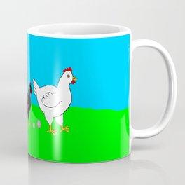 Hens and eggs Coffee Mug