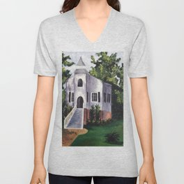 Old South Churches Series #1 Unisex V-Neck