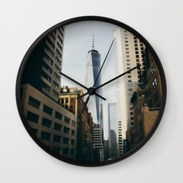 New York City One World Trade Center Wall Clock