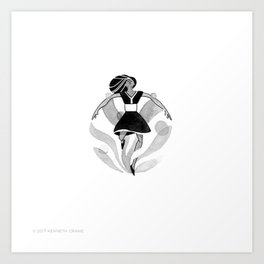 2017 Inktober #13 Art Print