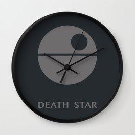 Death star, force, wars, Vader Wall Clock