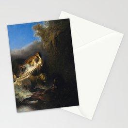 The Rape of Proserpine - Rembrandt van Rijn Stationery Cards
