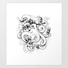 Mr Coladita Art Print