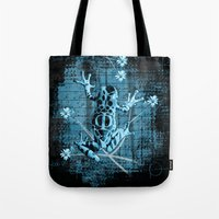 fringe Tote Bags featuring Fringe by Veruca Crews