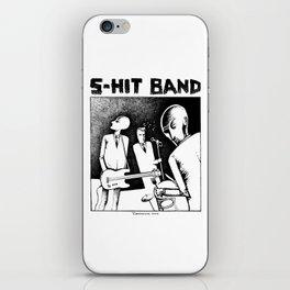 S-HIT BAND iPhone Skin