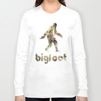 bigfoot Long Sleeve T-shirts featuring Bigfoot Predator by D-fens