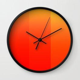 Colors (Orange) Wall Clock