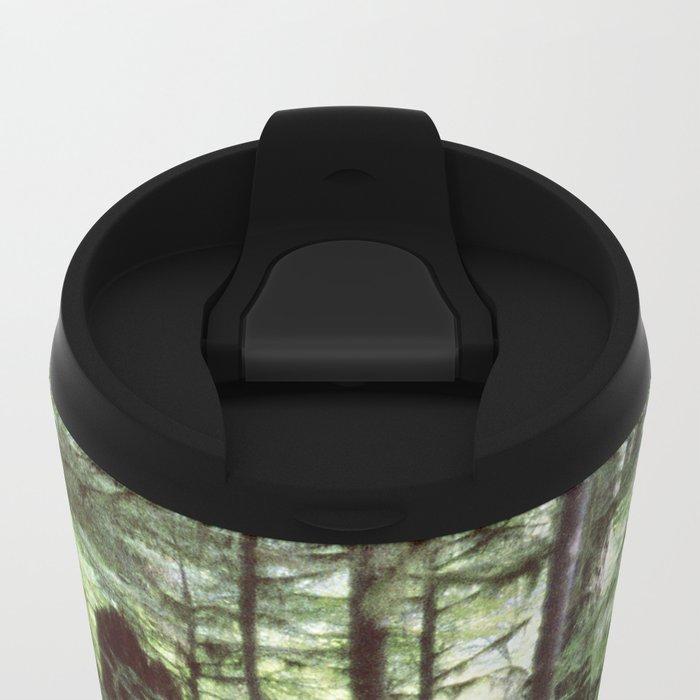 Vancouver Island Rainforest Metal Travel Mug