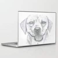 labrador Laptop & iPad Skins featuring Labrador by Malgorzata Zabawa