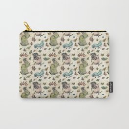 Monster Pattern Carry-All Pouch