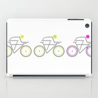 posters iPad Cases featuring Olympic Posters - Cycle 2 by Samar
