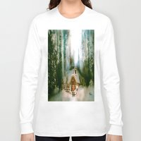 "hobbit Long Sleeve T-shirts featuring ""HOBBIT HOUSE"" by FOXART  - JAY PATRICK FOX"