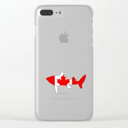 Shark Canada Clear iPhone Case