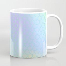 Aqua Green Mermaid Tail Abstraction Coffee Mug