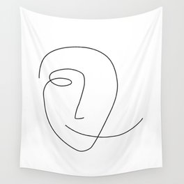 Different Smile Wall Tapestry