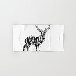 Mecha deer Hand & Bath Towel