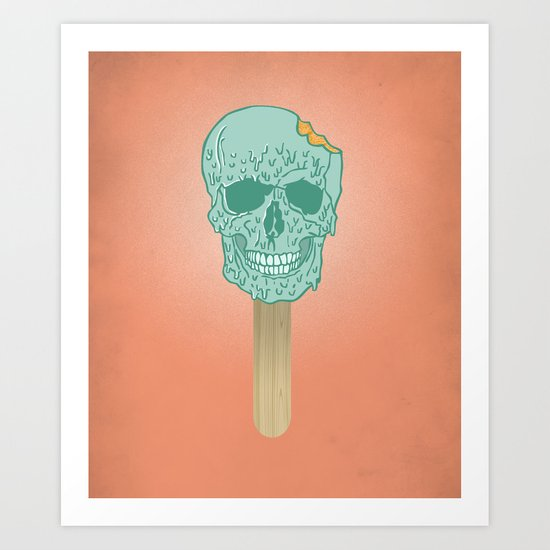 We All Scream Art Print