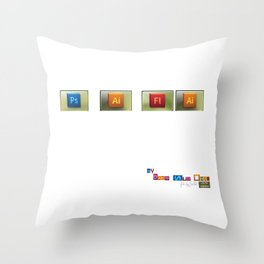 P.S. I Fly  Throw Pillow