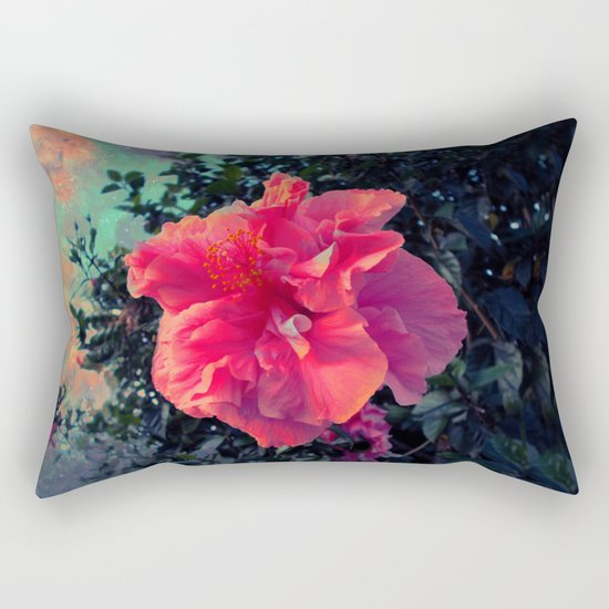 Bloom into a Galaxy Rectangular Pillow