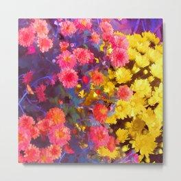 Fall Blooms Metal Print