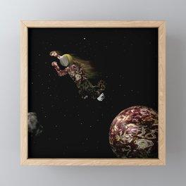Spacewalk Dream #2 Framed Mini Art Print