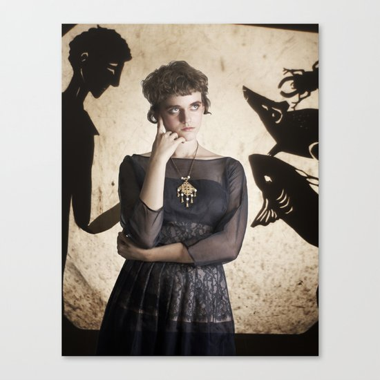 The Princess Who Never Smiled Canvas Print