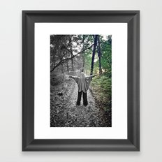 Color Phantom B Framed Art Print