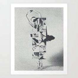Diamond Dancer Art Print