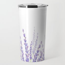 Lavender in the Field Travel Mug