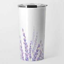 Lavender in the Field Travel Mug