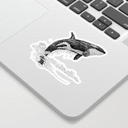 Breach - Orca Sticker