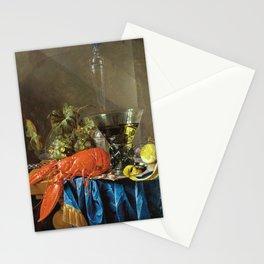 Cornelis De Heem - Still Life With Lobster Stationery Cards