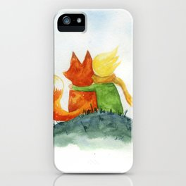 Best friend // Little prince iPhone Case