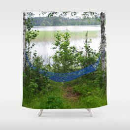 Come and relax! Shower Curtain