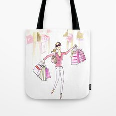 Shopping Spree Tote Bag